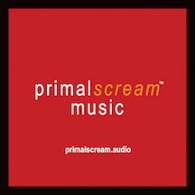 Primal Scream Logo With Website and Black Rim copy